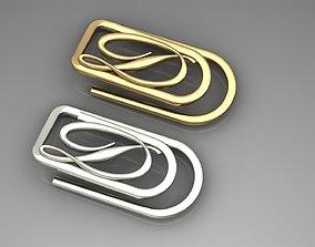 Money clip 3D printable model
