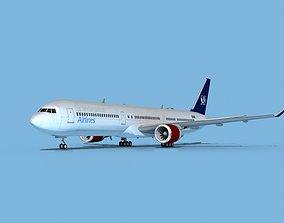 Boeing 767-400 SAS 3D model