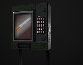 3D asset Cigarette Machine