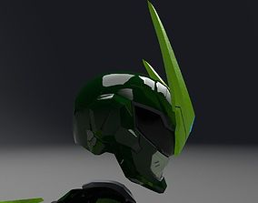 sentai genji helmet overwatch 3D print model