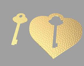 LOVE KEYS 3D print model