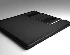 Computer Floppy Disc 3D