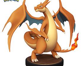 Pokemon Charizard Y - 3D Printable Figure -