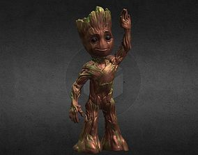 3D print model Baby Groot from Guardians of the Galaxy 2 1