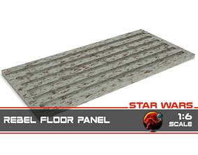 Star Wars Rebel Floor Panel 1-6 scale 3D print model