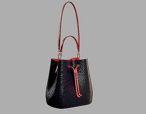 3D Louis Vuitton Neonoe MM Bag Epi Leather Indigo