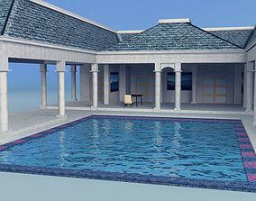 3D asset large Pavilion