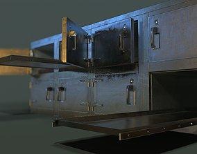 Morgue Freezing Chamber 3D asset