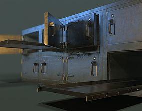 Morgue Freezing Chamber 3D model