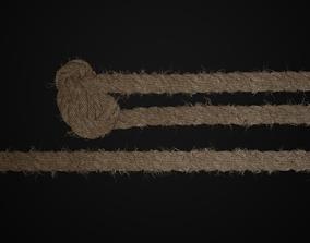 Rope Thread 3D asset