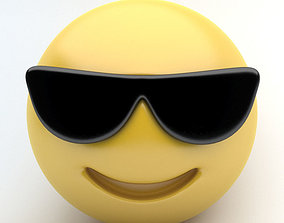 EMOTICON sunglasses 3D model