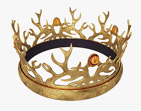 3D model Tommen Baratheon Crown