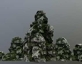 other Rocks 3D asset low-poly