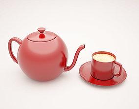 3D printable model TEA POT cup
