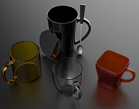 3D model Coffee Mug Collection