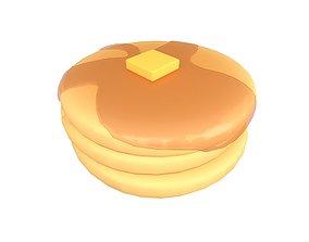 Pancake v2 005 3D asset