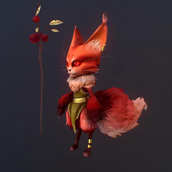 Fox druide (Mobile version )