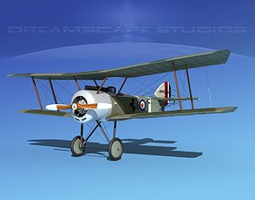 Sopwith Pup Fighter 3D rigged naval
