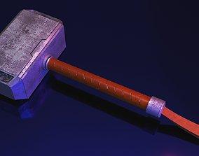3D model Thor hammer avergerscosplay