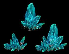 Large crystal - gravel 02 3D