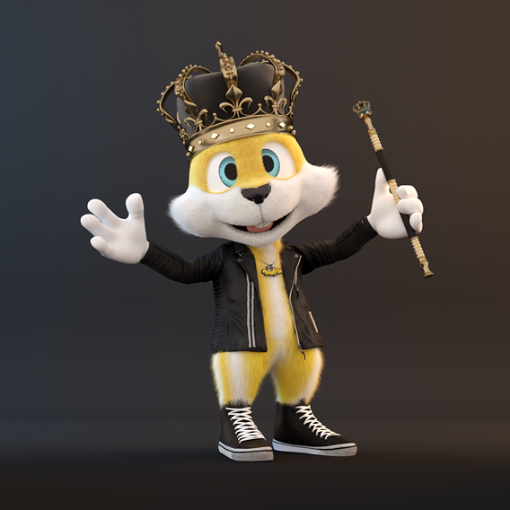 Character Animation - Queen Waffle