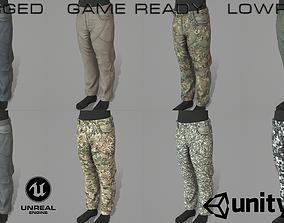 Capital pants 3D model