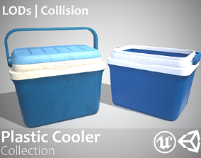 3D Plastic Cooler - Clean and Dirty - Updated for 2021