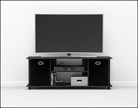 Furinno 13054BK Econ 3D model