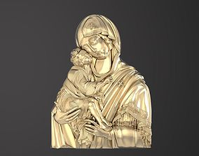 Russian icon 3D print model church