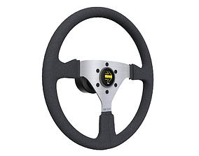MOMO Steering Wheel 3D model