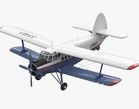 3D Antonov AN-2