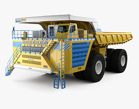 3D model BelAZ 75710 Dump Truck 2013