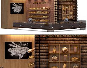 Restaurant-coffee shop 3D