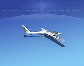 3D model SZD-22 Mucha Glider V02