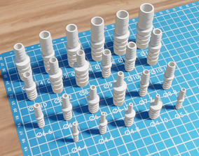 Set of hose fittings 3D Printable other