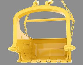 Dragline Bucket 3D Model