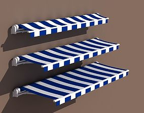3D model Awning 3 types