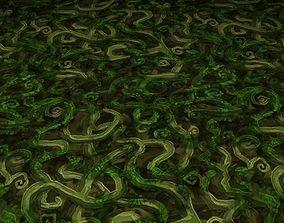 ground leaf tile 13 3D model