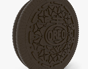 3D High Detail Oreo Cookie