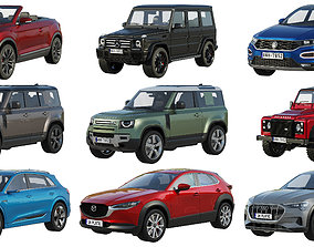 HQ SUV collection 3D