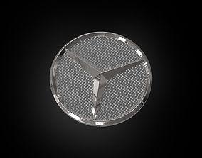 Mercedes Logo 3D print model