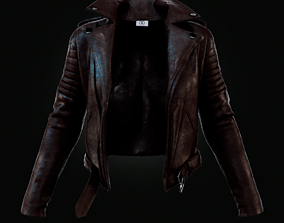 3D model Leather Jacket leather