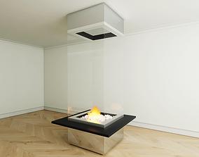 3D model Brasero interieur