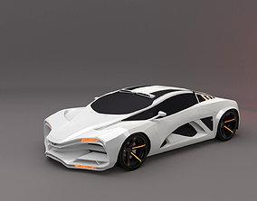 Lada Raven 3D model