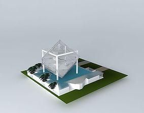 art museum 3D model