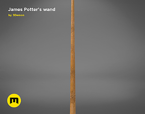 3D printable model Wand of James Potter