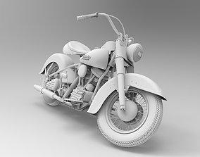 3D asset Harley