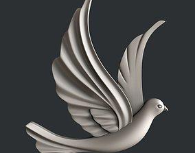 3d STL models for CNC dove