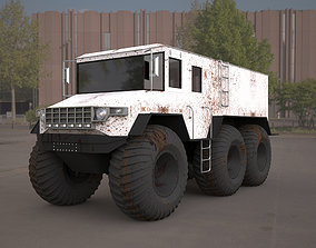 burlak amphibious atv 3d model