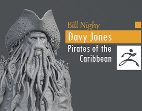 3D printable model Bill Nighy - Davy Jones - Pirates of 1